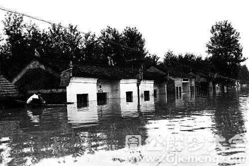 村庄被水淹