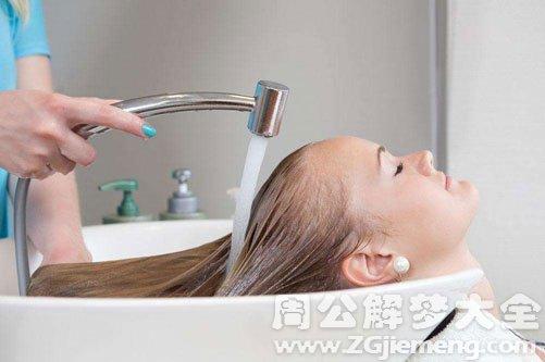 孕妇梦到洗头发