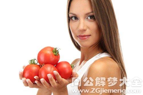 孕妇梦见西红柿