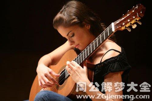 梦见吉他有杂音