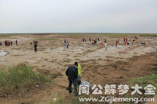 黄河水干了