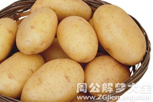 梦见土豆很大