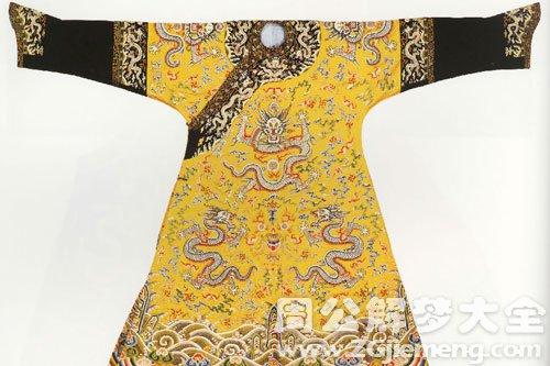 梦见歘黄袍