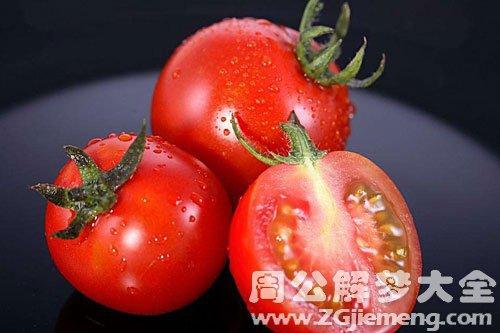 腐烂的西红柿