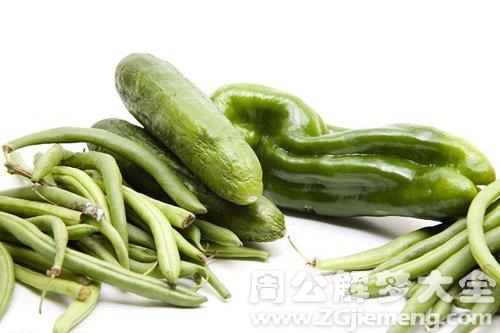 梦见四季豆和黄瓜