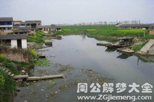 夢見家鄉的河水污染