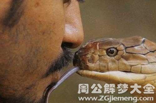 男梦见被蛇咬