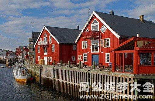 梦见红色房子