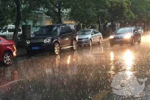 夢見大雨傾盆