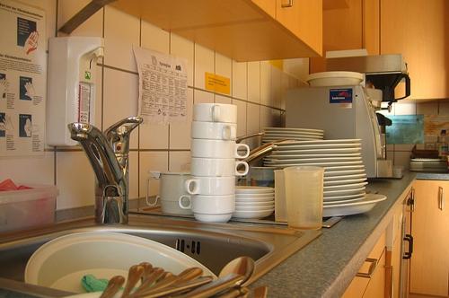 梦见爸爸去打工洗碗