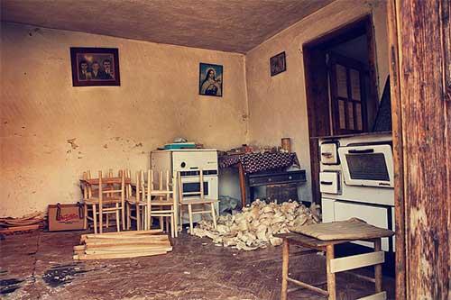 梦见拆旧房子